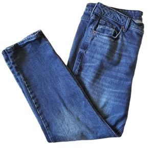 Womens Old Navy Straight High Rise Jeans 16